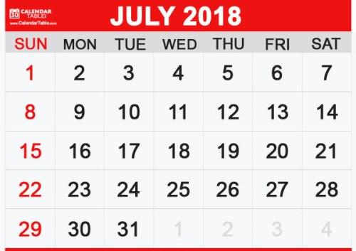 Image result for july 2018